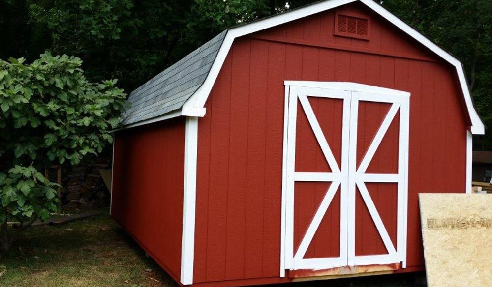 Standard dutch barn style twelve by twenty