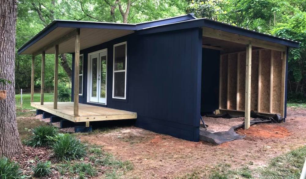 Twelve by Twenty High Wall Style Shed with Eight by Twelve Lean Too